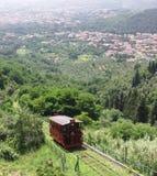 Funicular Railway Montecatini royalty free stock photo