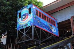 Funicular railway. Stock Photos