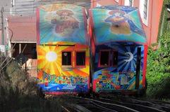 Funicular railway. Stock Image