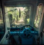 Funicular railway.Tibidabo. Barcelona. Royalty Free Stock Photography