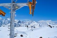 funicular Russia& x27; s el Cáucaso del norte Imagen de archivo