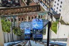 Funicular, Salvador, Bahía, el Brasil imágenes de archivo libres de regalías
