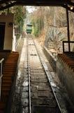 Funicular Santiago de Chile fotografia stock