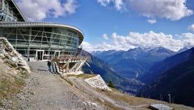 Funicular stacja na górze Obraz Royalty Free
