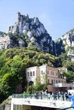 Funicular Stacyjny Barcelona obraz royalty free