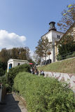 the funicular station. Royalty Free Stock Photo