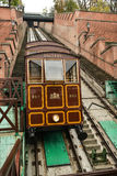 Funicular to Buda Castle in Budapest Stock Images