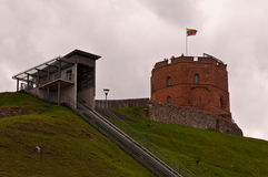 Funicular to the Castle Royalty Free Stock Image