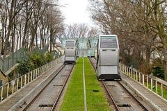 funicular transport royaltyfri fotografi