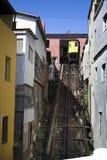 funicular valparaiso Royaltyfri Foto