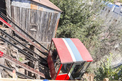 Funicular in Valparaiso, Chile Stock Photography