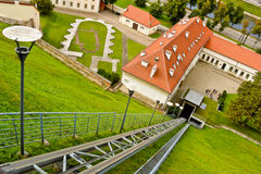 Funicular in Vilnius Royalty Free Stock Images