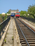 Funicular in Vladivostok Stock Photos
