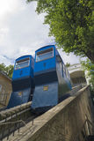 Funicular in Zagreb Royalty Free Stock Photos