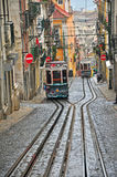 Funicurals de Lisboa Imagen de archivo