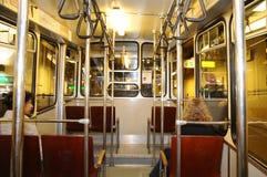The Funikular - Interior cab Funicular Royalty Free Stock Image
