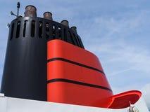 Funil de Cunard Imagem de Stock Royalty Free
