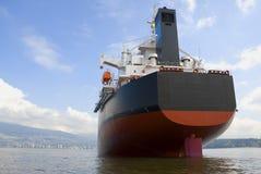 Funil do cargueiro fotografia de stock