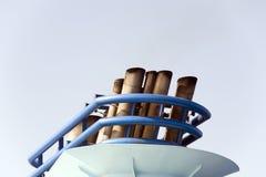 Funil do navio de cruzeiros Fotografia de Stock