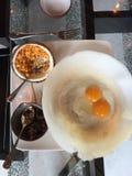 Funis do ovo - culin?ria de Sri Lanka fotos de stock royalty free