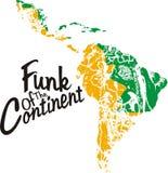 Funk do continente Imagem de Stock Royalty Free