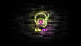 Funk Off Royalty Free Stock Photos