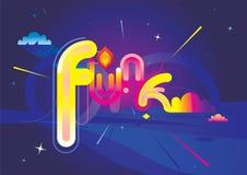 Funk projetado Imagens de Stock Royalty Free