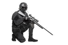 Funkcjonariusza policji pacnięcie Obraz Royalty Free
