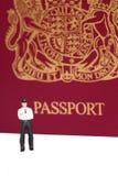Funkcjonariusza policji paszport A Fotografia Stock