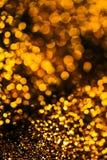 Funkeln beleuchtet Schmutzhintergrund, Funkeln defocused abstraktes Twi Stockfotografie