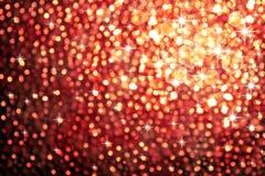 Funkelnde Leuchten Stockfotografie