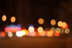 Funkelnde Lichter Stockbilder