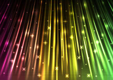 Funkelnder abstrakter Hintergrund der Lichtgeschwindigkeit lizenzfreie abbildung