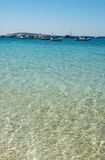 Funkelnder griechischer Hafen Stockbild