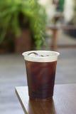 Funkelnder kalter Gebräu-Nitrokaffee Lizenzfreies Stockbild