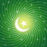 Funkelnder Ramadan Mond Lizenzfreies Stockbild