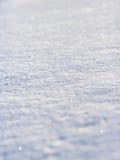 Funkelnder Schnee Stockfotografie