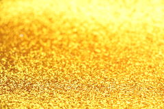Funkelndes Goldpapier Lizenzfreies Stockfoto