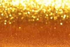 Funkelndes Goldpapier Lizenzfreies Stockbild