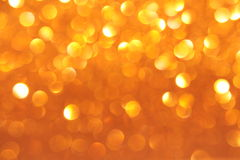 Funkelndes Goldpapier Stockfoto
