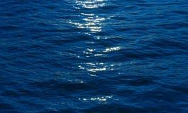 Funkelndes Meer, Sonnenuntergang Stockfotografie