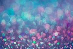Funkelngold-bokeh Colorfull verwischte abstrakten Hintergrund für bir stockbild
