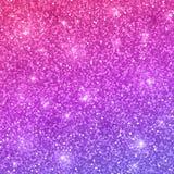 Funkelnhintergrund mit rosa violetter Steigung Vektor Vektor Lizenzfreie Stockfotos