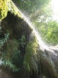 Funken des Wasserfalls stockfotos