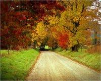 Funken-Weg, Cades-Bucht, Tennessee lizenzfreies stockfoto