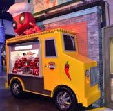 Funko Daredevil display truck Royalty Free Stock Image
