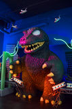 Funko Godzilla. Display on Everett Washington royalty free stock images