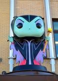 Funko Malefica da Disney Fotografie Stock Libere da Diritti