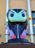 Funko Maleficent from Disney Royalty Free Stock Photos