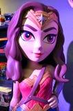 Funko Wonder Woman. Display in Everett Washington stock photo